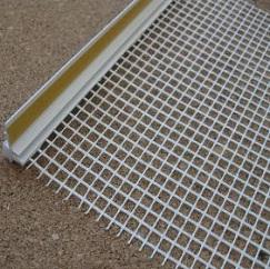 Профиль примыкания оконный 9 мм с сеткой самоклеющийся